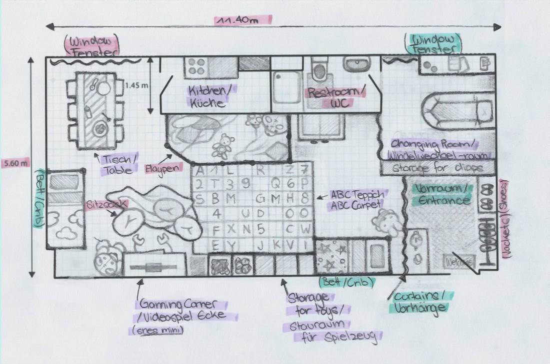 Plan ATelier (sketching)